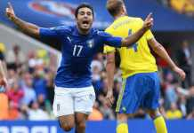 Italia Svezia 1-0 e gli azzurri volano agli ottavi. Goal di Eder