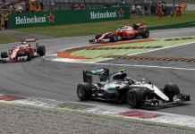 F1, Gp di Monza: vince Rosberg Mercedes, Ferrari terza con Vettel