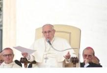 Il Papa ai giornalisti