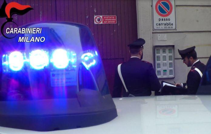 I carabinieri di Milano