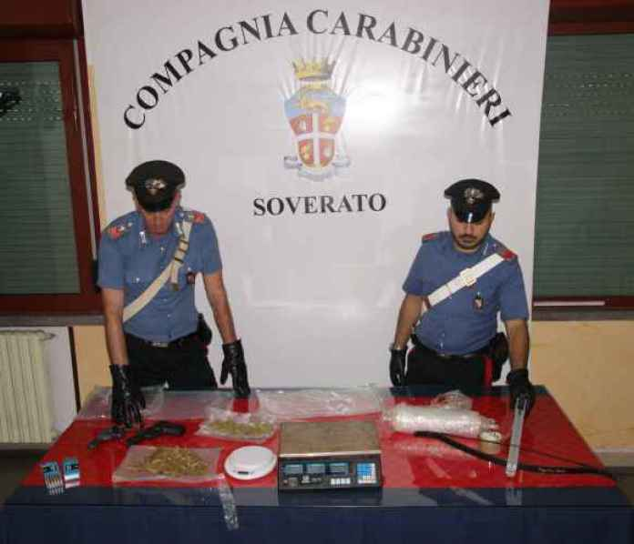 Armi e droga sequestrati ai fratelli Zaffino