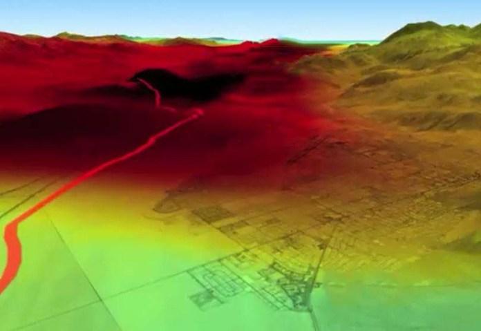 Video simulazione del terremoto