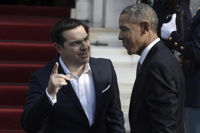Alexis Tsipras e Barack Obama
