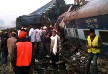 treno deragliato kampur India