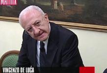 Vincenzo De Luca a Matrix