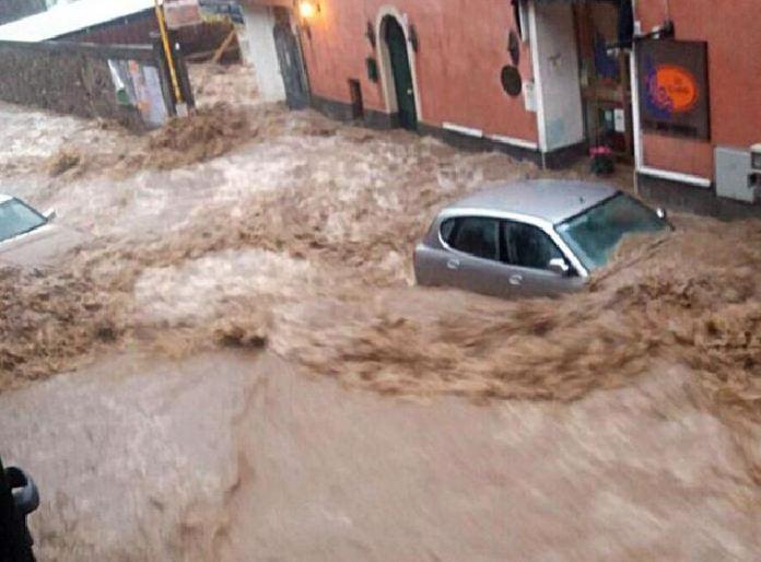 Il fiume Nava a Cisano