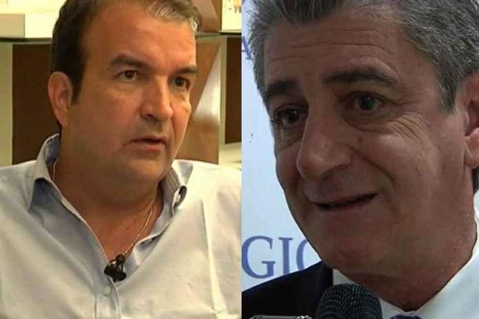 Mario Occhiuto e Luigi Incarnato. Continua lo scontro sull'acqua a Cosenza
