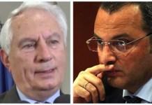 Massimo Scura e il giornalista Adriano Mollo