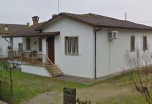 La casa a dove sono stati uccisi i titolari del ristorante a Salvatore Vincelli , Nunzia Di Gianni, Pontelangorino