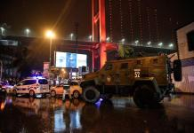 Forze di sicurezza turche a Istanbul