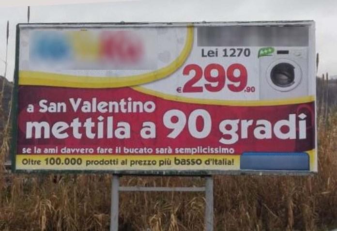manifesto pubblicitario