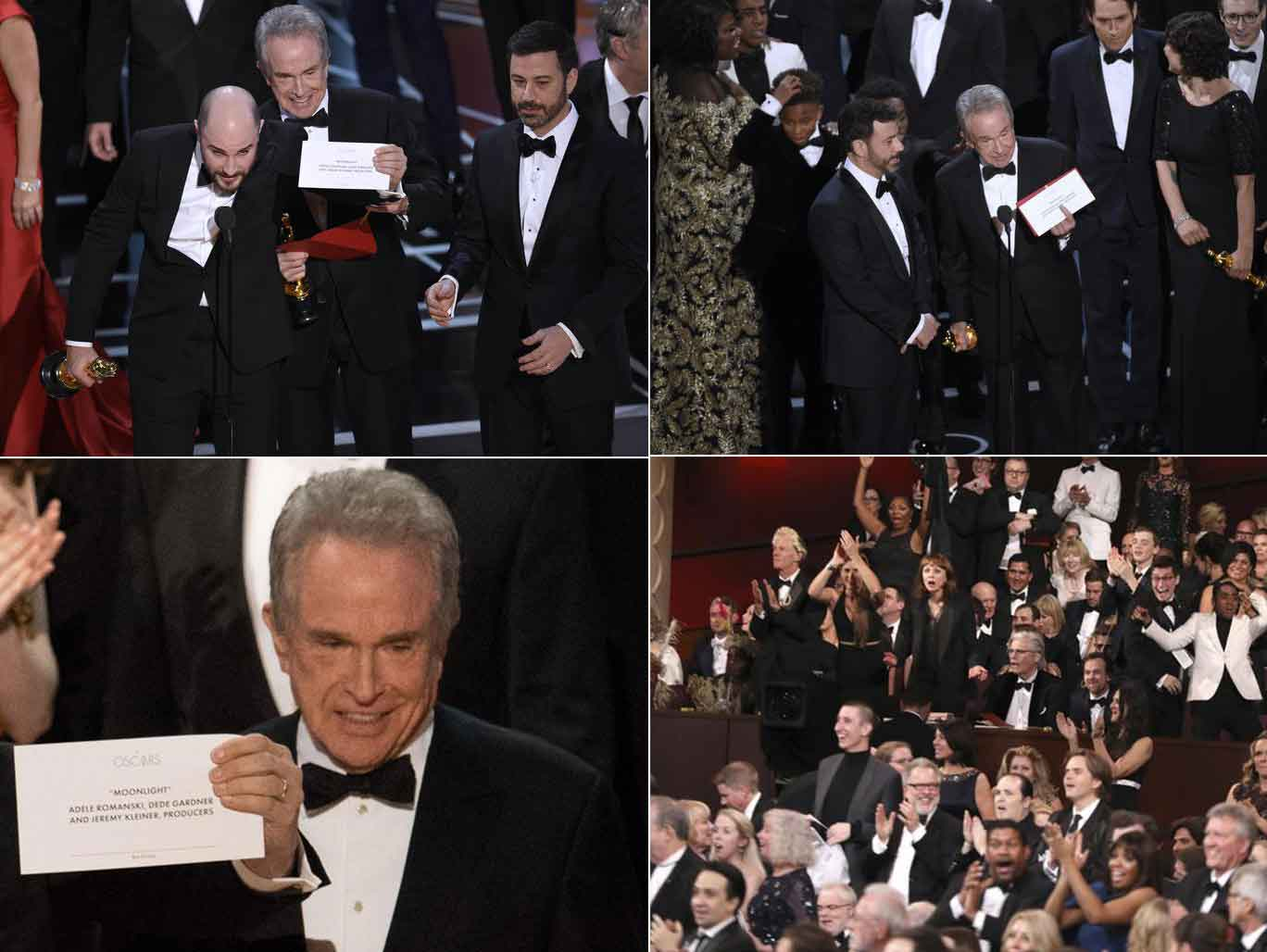 "Gaffe a Hollywood,  vince ""La La Land"", anzi no. Oscar a Moonlight"