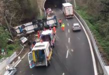 Incidente A10 Tir