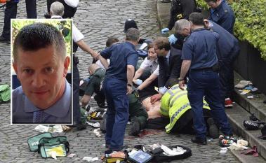 L'agente Keith Palmer ucciso a Londra