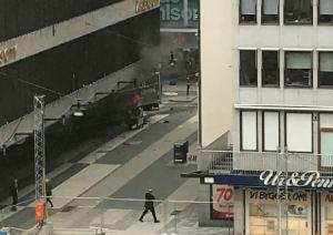 Attentato Stoccolma Svezia