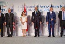 G7 ministri Esteri Lucca