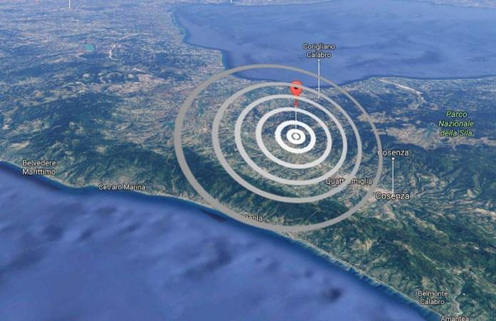 """Terremoto a Luzzi (Cosenza), magnitudo 3.1: """"E' stato forte"""""""