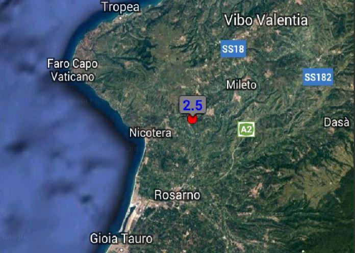 Terremoto San Calogero Vibo Valentia