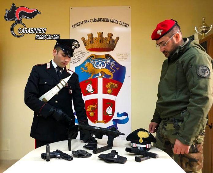 carabinieri gioia tauro armi