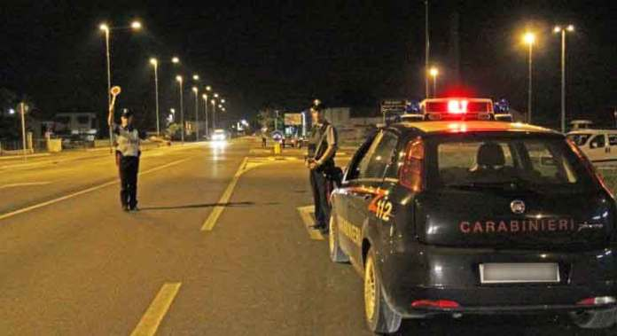 carabinieri-notte-rende
