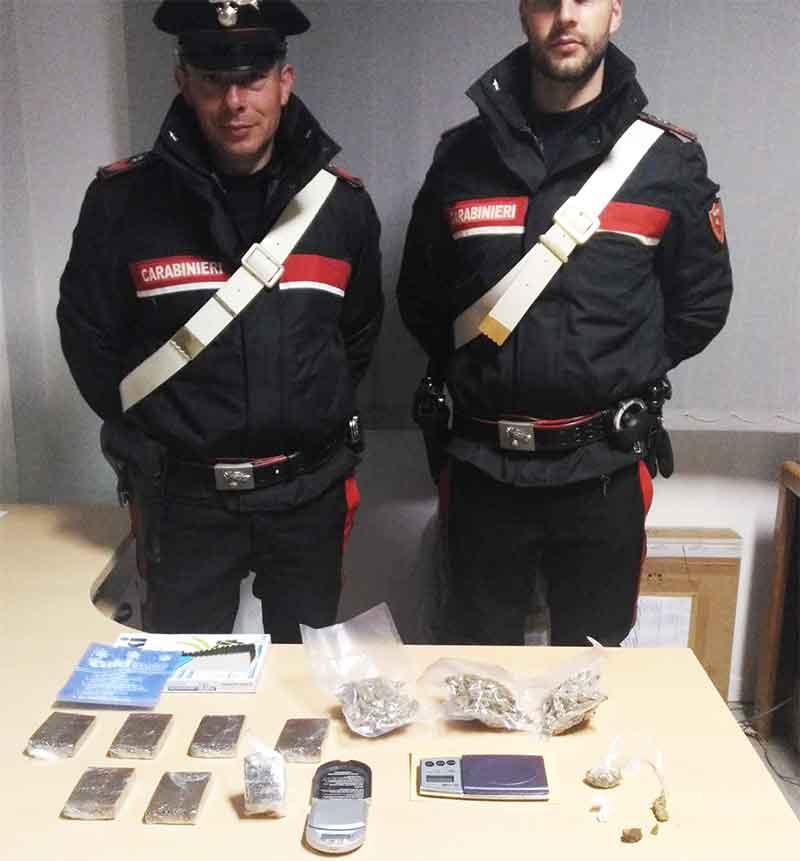 Droga in auto e a casa arrestato un 41enne a rende - Piano casa calabria 2017 ...