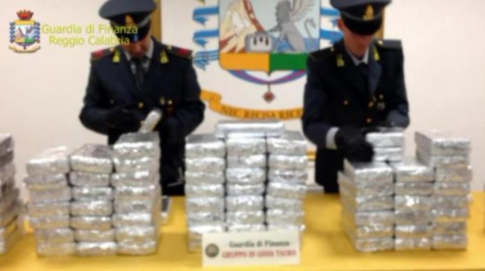 guardia di finanza cocaina Rc