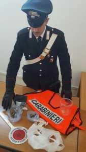 militare Crotone droga Spagnolo