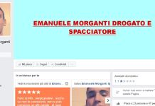 La pagina contro Emanuele Morganti apparsa su Facebook