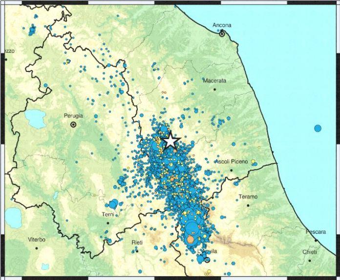 terremoto Fiordimonte Macerata
