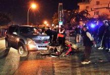 Incidente auto moto bovalino