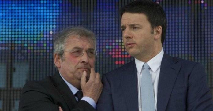 Ernesto Magorno e Matteo Renzi