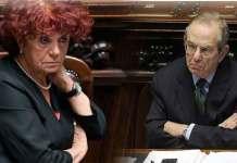 I ministri Valeria Fedeli e Piercarlo Padoan alla Camera