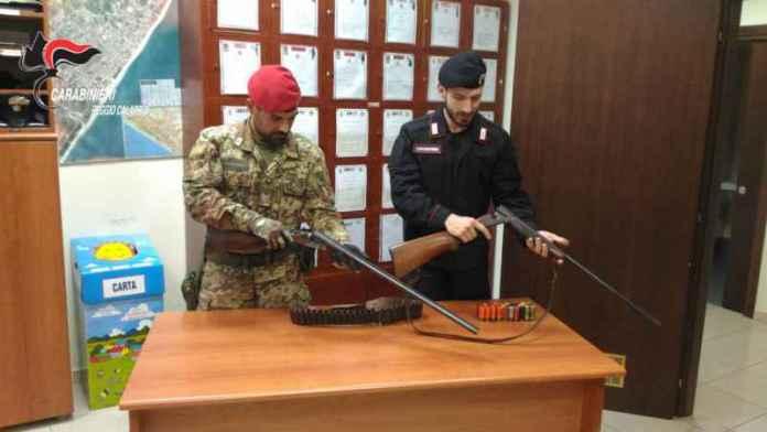 armi fucili locri