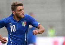 L'attaccante del Sassuolo e della Nazionale Under-21, Domenico Berardi