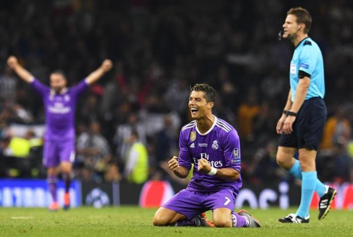 Cristiano Ronaldo Al fischio finale a Cardiff