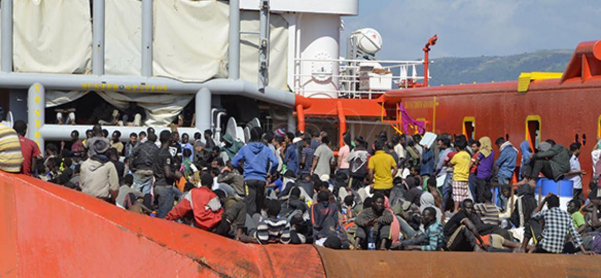 Nuova ondata di migranti a Lampedusa