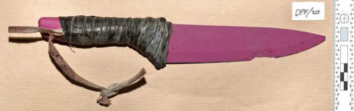 coltello usato dai terroristi