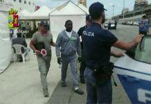 Il nigeriano arrestato Samsuddin Musar