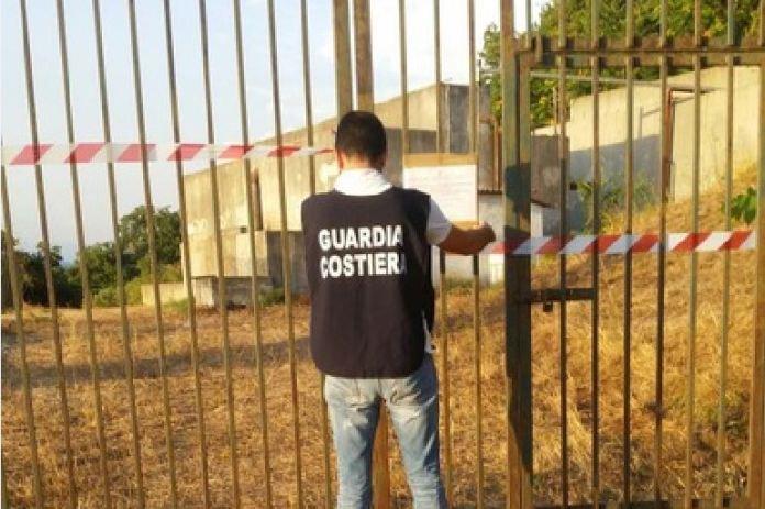 guardia costriera sequestro depuratore