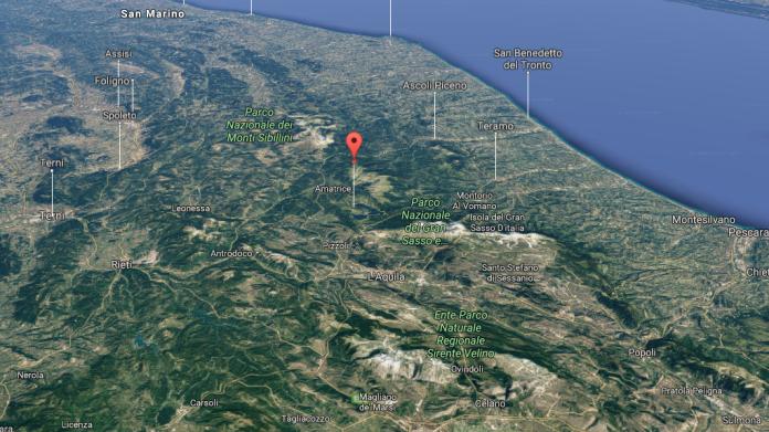 Terremoto Campotosto