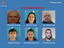 arrestati Operazione Regina 2