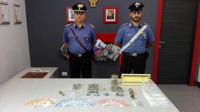 carabinieri droga soldi rossano