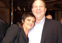 Asia Argento con il produttore hollywoodiano Harvey Weinstein