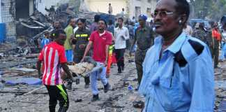 Nasa-Hablod Hotel a Mogadiscio (Afp)