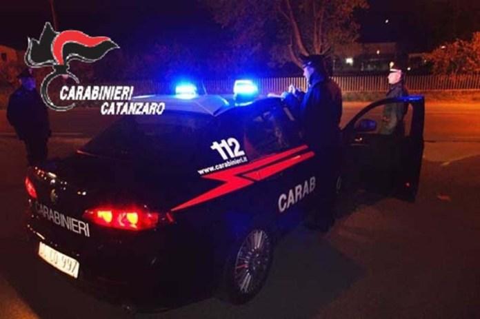 carabinieri catanzaro notte