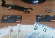 furto a bancomat Melito