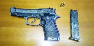 Una pistola clandestina in casa, arrestato SalvatoreCandela a Cessaniti