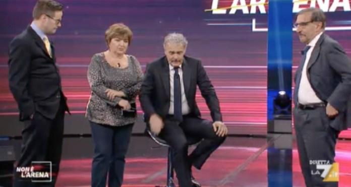 Massimo Giletti malore