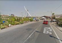 Ponte di Calatrava su Google Street view