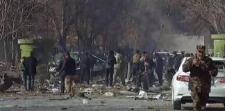 attacco terroristico Kabul